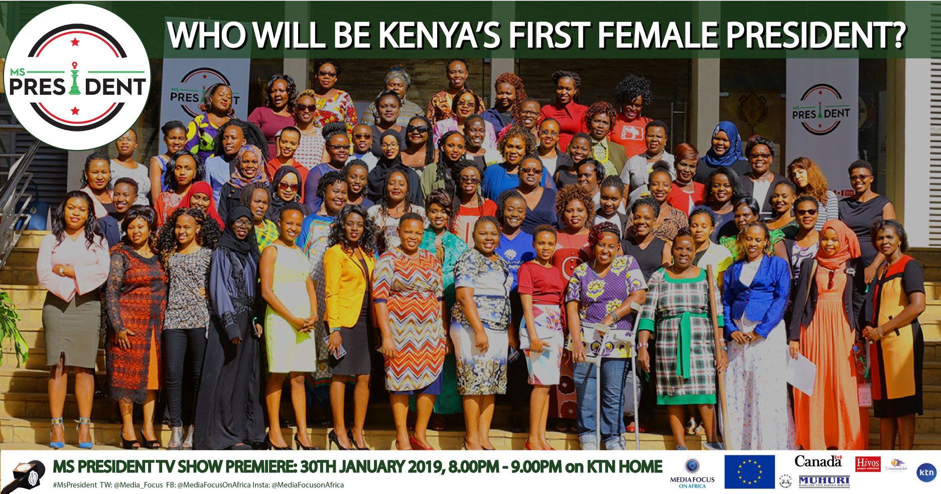 MS PRESIDENT: KENYA'S FIRST REALITY SHOW ON LEADERSHIP PREMIERES