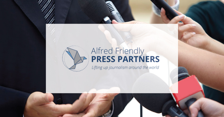 Alfred Friendly Press Partners Fellowship 2022 for Journalists